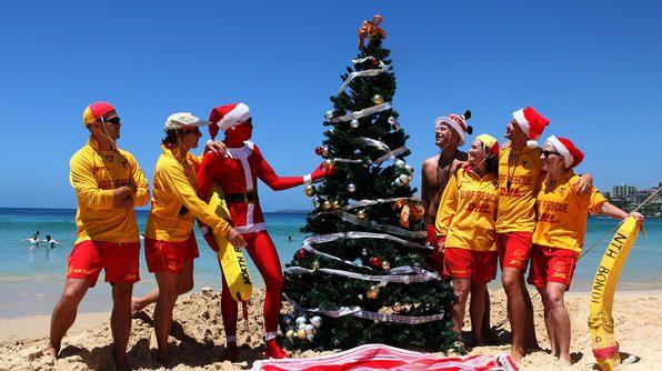 kerst australie