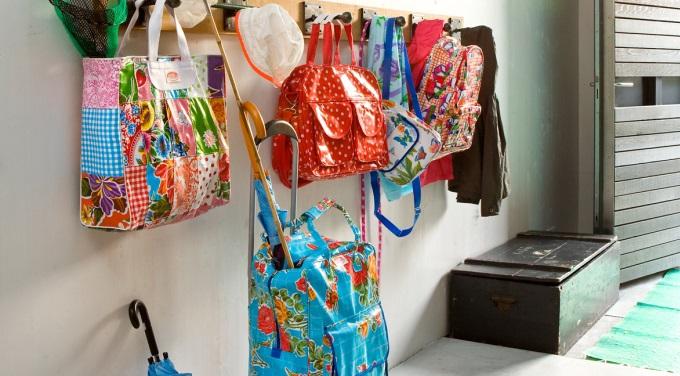 tassen gemaakt van tafelzeil