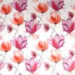 tafelzeil klaproos bloemen