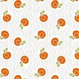 Tafelzeil sinaasappels retro_