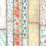 Ovaal tafelzeil Flowery Woods_