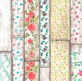 Rond tafelzeil Flowery Woods (140 cm)_