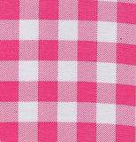 Rond Mexicaans tafelzeil  boerenruit roze (120cm)_