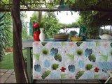 rond tafelzeil botanische bladeren
