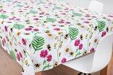 Tafelzeil bijen en bloemen_