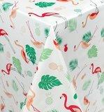 Tafelzeil flamingo jungle