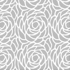 SALE tafelzeil Billy bloom grijs 135x140cm