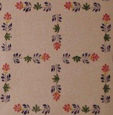 SALE linnen tafelzeil Boerenbont 110x140cm (wasbaar)