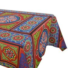 Kleurrijk tafelkleed Arabisch motief 178x138cm