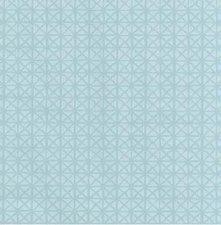 50x140cm Restje tafelzeil vintage Andy blauw