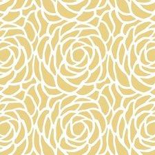 Rond tafelzeil Billy Bloom geel (140cm)