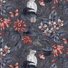 SALE tafelzeil papegaai grijs 135x140cm