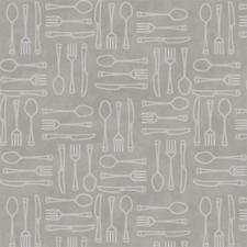 85x140cm Restje tafelzeil couvert grijs