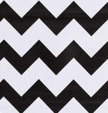 Ovaal Mexicaans tafelzeil zigzag zwart