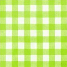 Tafelzeil grote ruit lime groen