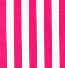 Ovaal Mexicaans tafelzeil strepen roze