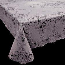 Tafelkleed buiten vinyl lila 152x228cm
