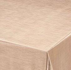 Rond tafelzeil brons look (137cm)
