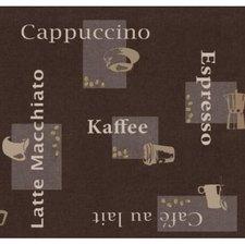 Rond tafelzeil koffie (140cm)