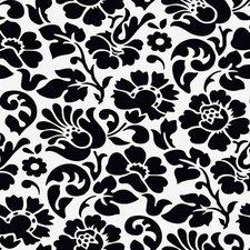 Ovaal doorzichtig tafelzeil barok zwart