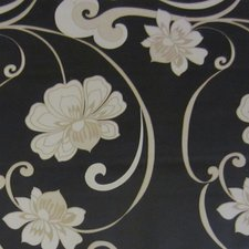 SALE tafelzeil Morgana bloemen zwart 150x140cm