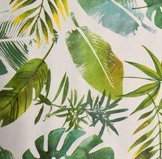 SALE tafelzeil jungle leafs 130x140cm