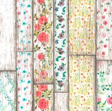 SALE tafelzeil flowery woods 110x140cm