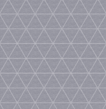 45x140cm Restje wasbaar tafelzeil triangle grijs