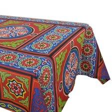 Kleurrijk tafelkleed Arabisch motief 220x138cm