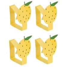 Tafelkleedklemmen citroen (set van 4)