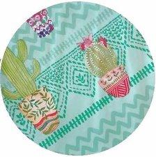 Groot rond tafelzeil cactussen (160cm)