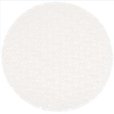 Rond buiten tafelkleed 160cm schuimvinyl gebroken wit (dikke kwaliteit)