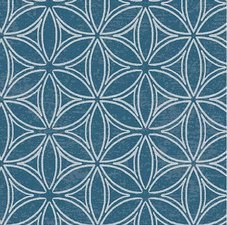 90x140cm Restje tafelzeil orbit blauw