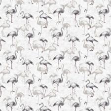 30x140cm Restje tafelzeil flamingoland grijs