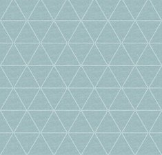 30x140cm Restje tafellinnen triangle mintgroen wasbaar