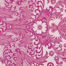 Rond Mexicaans tafelzeil paraiso roze (120cm)
