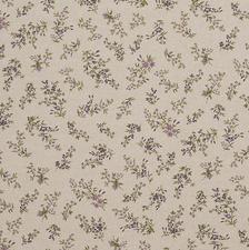 Tafellinnen paars bloempje (wasbaar)