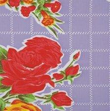 Ovaal Mexicaans tafelzeil rosendal lila