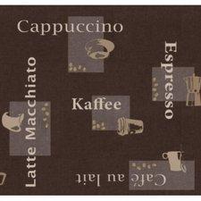 SALE Tafelzeil koffie 120x140cm