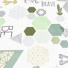 Tafelzeil geometrie & origamie