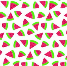 Ovaal tafelzeil watermeloen