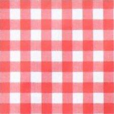 50x140cm Restje tafelzeil grote ruit rood