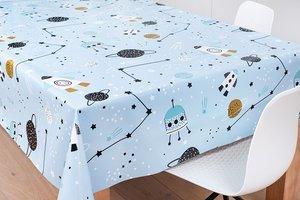 70x140cm Restje tafelzeil space
