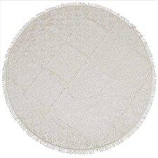 Rond buiten tafelkleed 160cm schuimvinyl pebble (dikke kwaliteit)