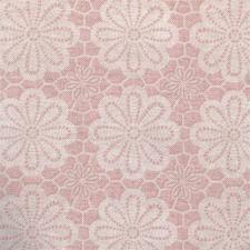 95x140cm Restje tafelzeil vintage bloemen oud roze