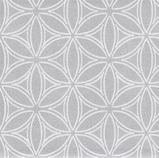 70x140cm Restje tafelzeil orbit zilver/grijs
