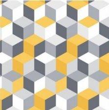 SALE Tafelzeil 3D blokken 120x140cm