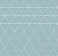 Wasbaar tafelzeil Triangle mintgroen
