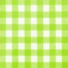 SALE Tafelzeil grote ruit lime groen 100x140cm