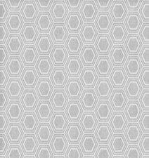 Rond tafelzeil Honingraat zilver/grijs 137cm